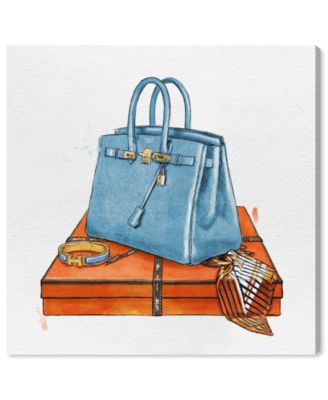 My Bag Collection III Canvas Art, 16
