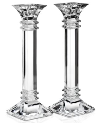 """Treviso Candlestick, 10"""" Pair"""