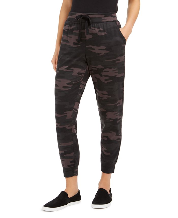 Style & Co - Camo-Print Joggers, Created For Macy's