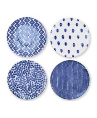 Santorini Assorted Dinner Plates - Set of 4