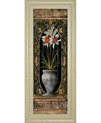 "Blanco Botanical II by Douglas Framed Print Wall Art, 18"" x 42"""
