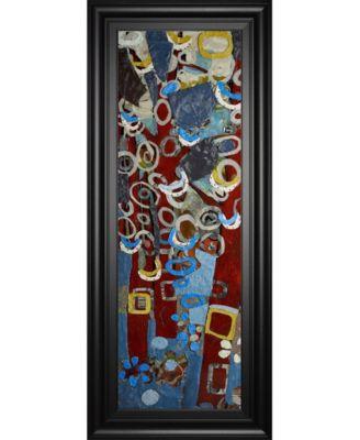 "Cut Paper Trees I by Erin McGee Ferrell Framed Print Wall Art, 18"" x 42"""