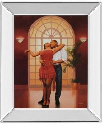 "Dancers I Mirror Framed Print Wall Art, 22"" x 26"""