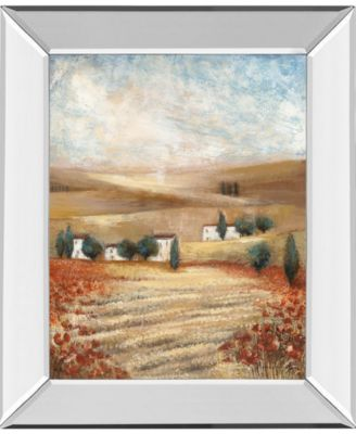"Hilltown Lanscanadian Art Prints Inc. E I by Rosie Abrahams Mirror Framed Print Wall Art, 22"" x 26"""