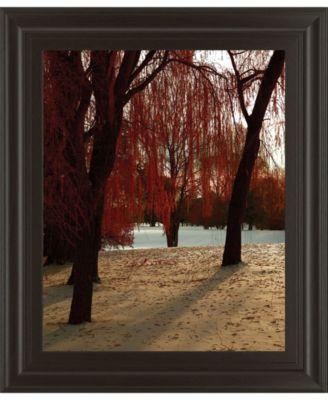 "Autumn Snow I by Alicia Suave Framed Print Wall Art, 22"" x 26"""