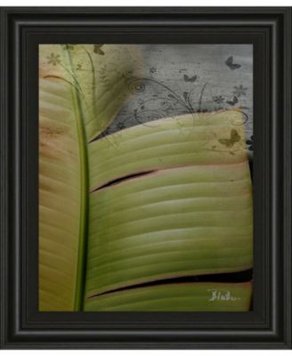 """Butterfly Palm II by Patricia Pinto Framed Print Wall Art, 22"""" x 26"""""""