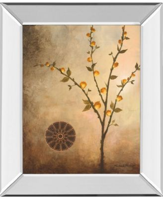 Fall Stem in The Light by Michael Marcon Mirror Framed Print Wall Art, 22