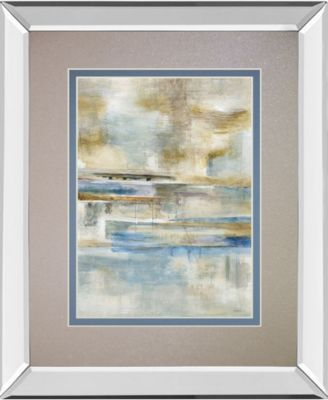 """Earthscape I by Augustine Mirror Framed Print Wall Art, 34"""" x 40"""""""