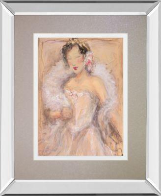 "Stole My Heart I by Dupre Mirror Framed Print Wall Art, 34"" x 40"""