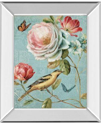 "Spring Romance II by Lisa Audit Mirror Framed Print Wall Art, 22"" x 26"""