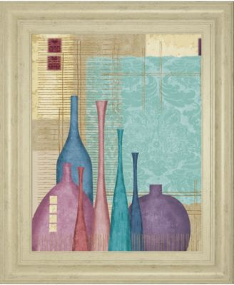 "Raku I by Linda Wood Framed Print Wall Art, 22"" x 26"""