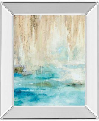 """Through The Mist II by Carol Robinson Mirror Framed Print Wall Art, 22"""" x 26"""""""