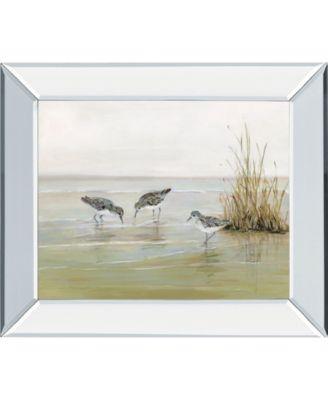 "Early Risers II by Sally Swatland Mirror Framed Print Wall Art, 22"" x 26"""