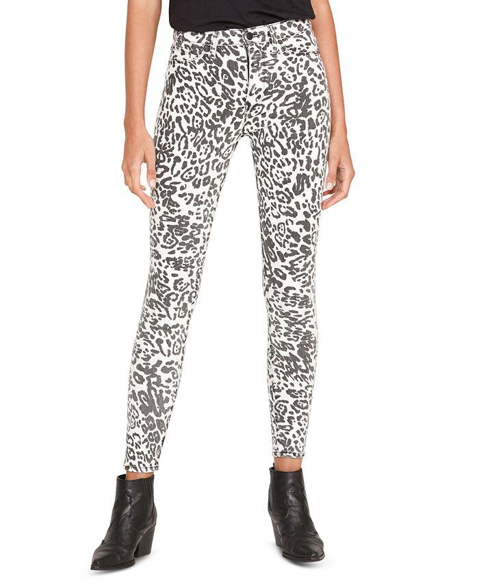 Hudson Jeans - Barbara Camouflage-Print Skinny Jeans