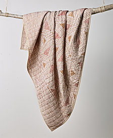 CLOSEOUT! Lucky Brand Faux Kantha Quilt