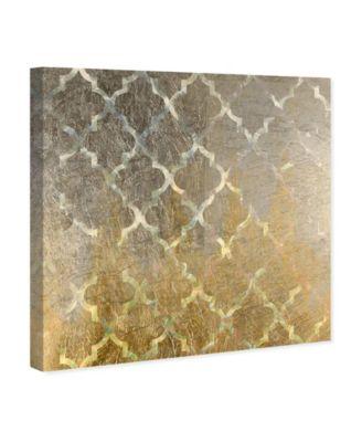 Arabesque Platinum Canvas Art, 36