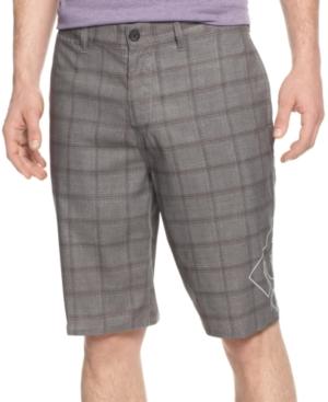 DC Shoes Shorts LandtoWater Plaid Lanaibrid Shorts