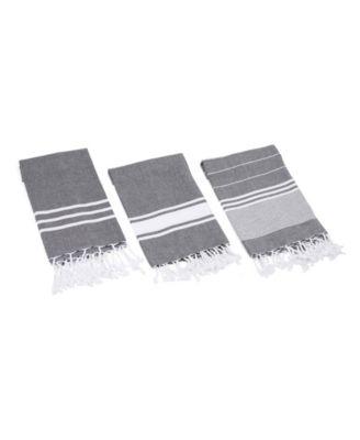Essential Turkish Hand/Kitchen Towel 3 Piece Set