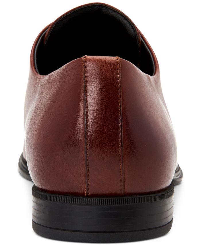 Calvin Klein Men's Dillinger Crust Leather Oxfords & Reviews - All Men's Shoes - Men - Macy's