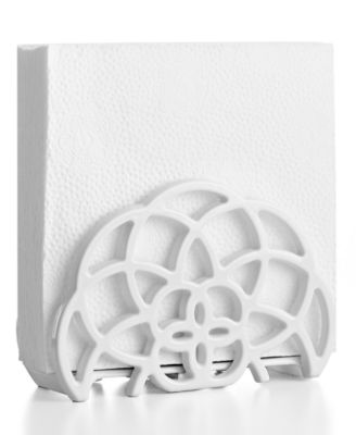 Martha Stewart Collection Cast Iron Napkin Holder