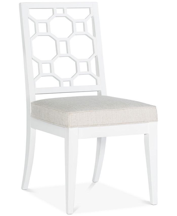 Furniture - Chelsea Lattice Back Side Chair
