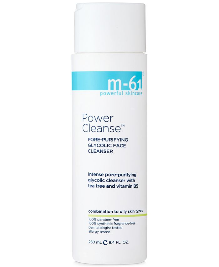 m-61 by Bluemercury - Power Cleanse - Pore Purifying Glycolic Cleanser, 8.4 oz