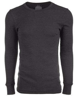 Alfani Men's Thermal Shirt, Created for Macy's & Reviews ...