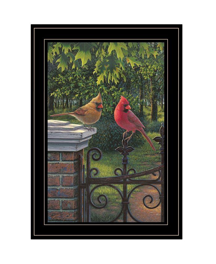 Trendy Décor 4u Summer Cardinals By Kim Norlien Ready To Hang Framed Print Black Frame 15 X 21 Reviews All Wall Décor Home Decor Macy S