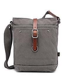 TSD BRAND Forest Canvas Crossbody Bag