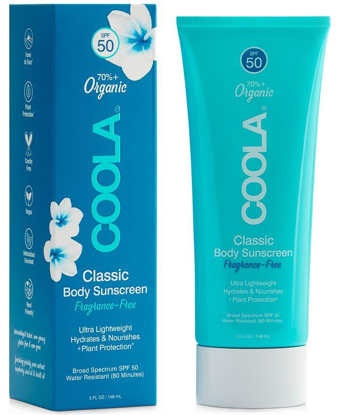 COOLA - Coola Classic Body Organic Sunscreen Lotion SPF 50 - Fragrance-Free