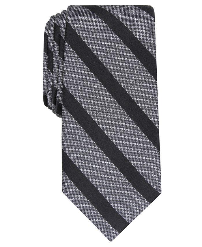 Alfani - Men's Slim Stripe Tie