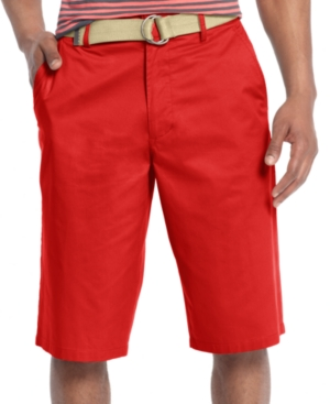 Sean John Shorts Big and Tall Classic Flat Front