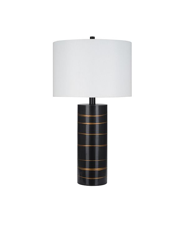 Catalina Lighting JAlexander Lighting Zara Brushed Gold-Tone Table Lamp