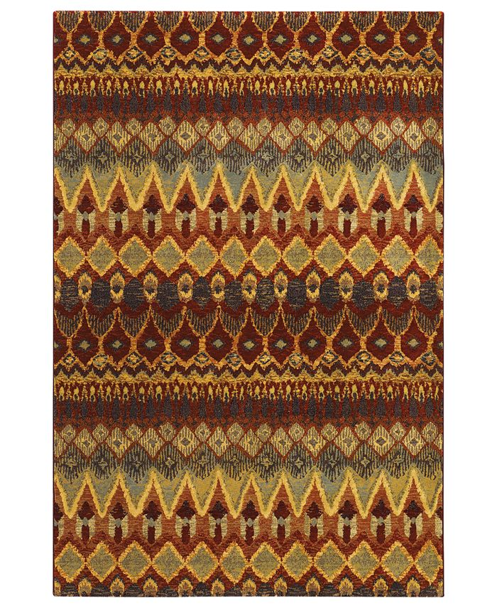 "Couristan - Area Rug, Taylor Caliente Multi 5'3"" x 7'6"""