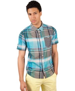 Marc Ecko Cut  Sew Shirt Short Sleeve Pearly Gates Shirt