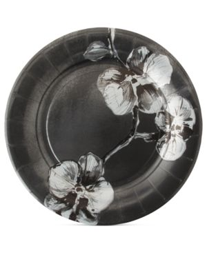 Madhouse by Michael Aram Dinnerware, Set of 8 Black Orchid Paper Dinner Plates