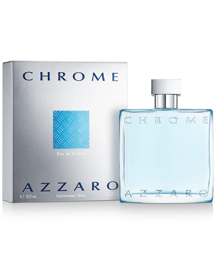 Azzaro - CHROME by  Eau de Toilette Spray, 3.4 oz