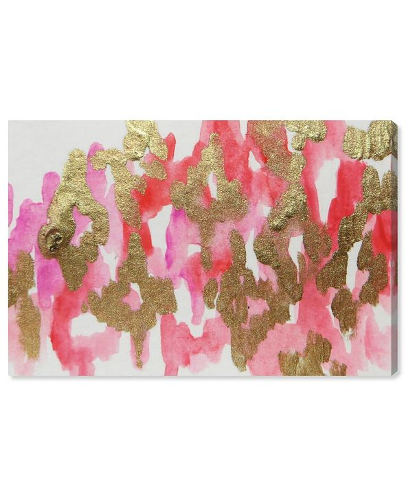 "Oliver Gal Pink Palaris Canvas Art, 36"" x 24"""