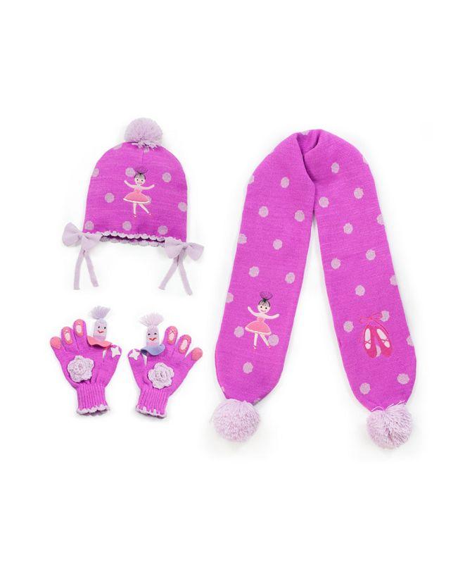 Kidorable Big Girl Ballerina Knitwear Set
