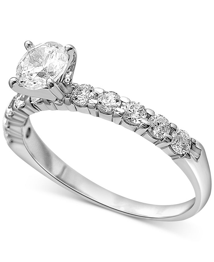 Macy's - Diamond Engagement Ring (1 ct. t.w.) in 14K Gold