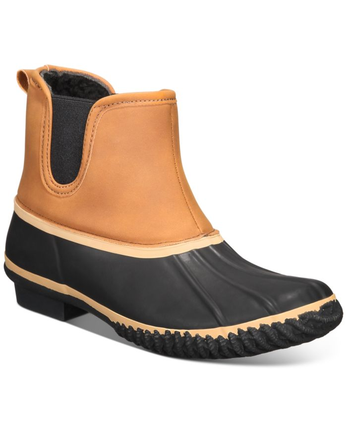 Style & Co Heidie Duck Booties, Created for Macy's & Reviews - Boots - Shoes - Macy's