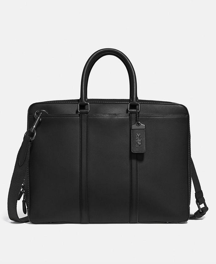 COACH - Men's Metropolitan Slim Leather Briefcase