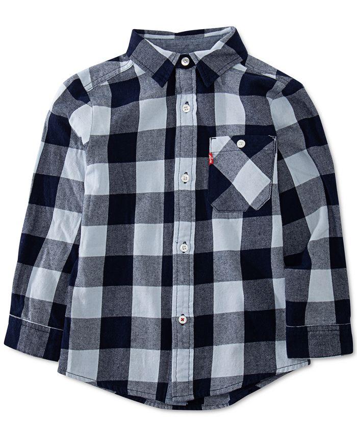Levi's - Baby Boys Long Sleeve Woven Shirt