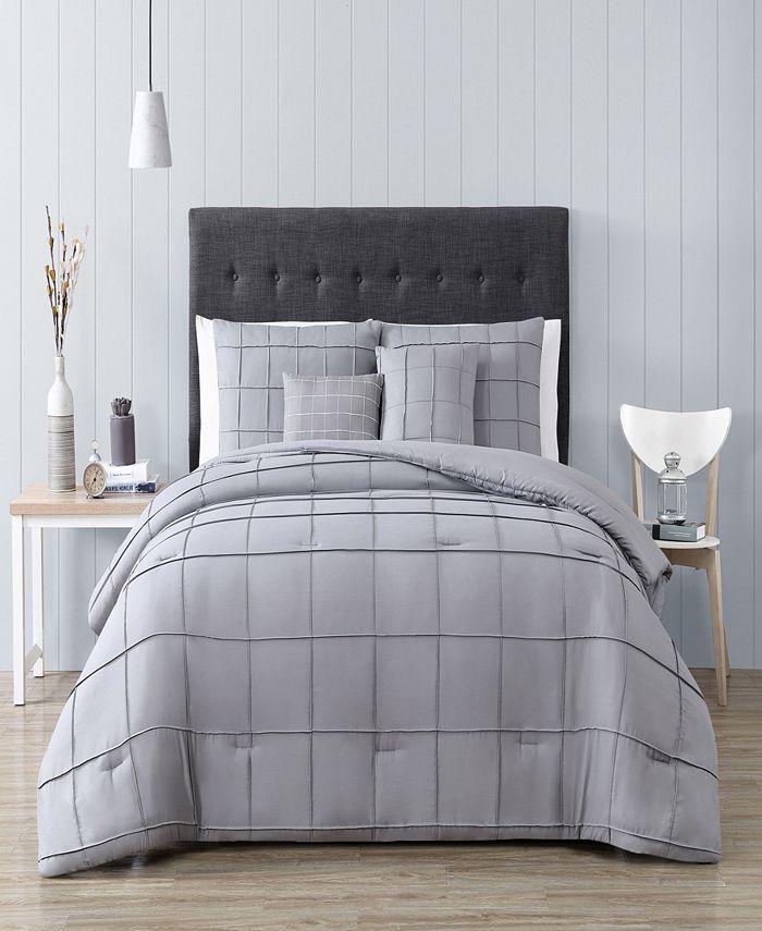 Geneva Home Fashion - Nelli 4pc Twin Size Comforter with Throw Pillows