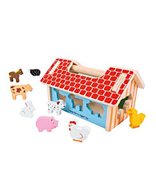 Bigjigs Toys Farmhouse Sorter