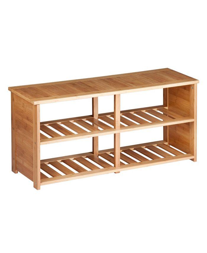 Honey Can Do - Shoe Bench, Bamboo