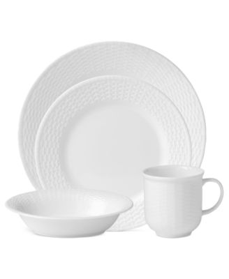 Wedgwood Dinnerware, Nantucket Basket 4-Piece Place Setting