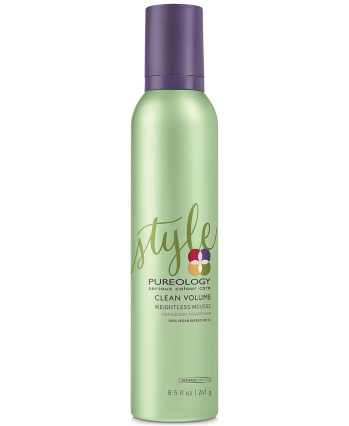 Pureology - Clean Volume Weightless Mousse, 8.5-oz.