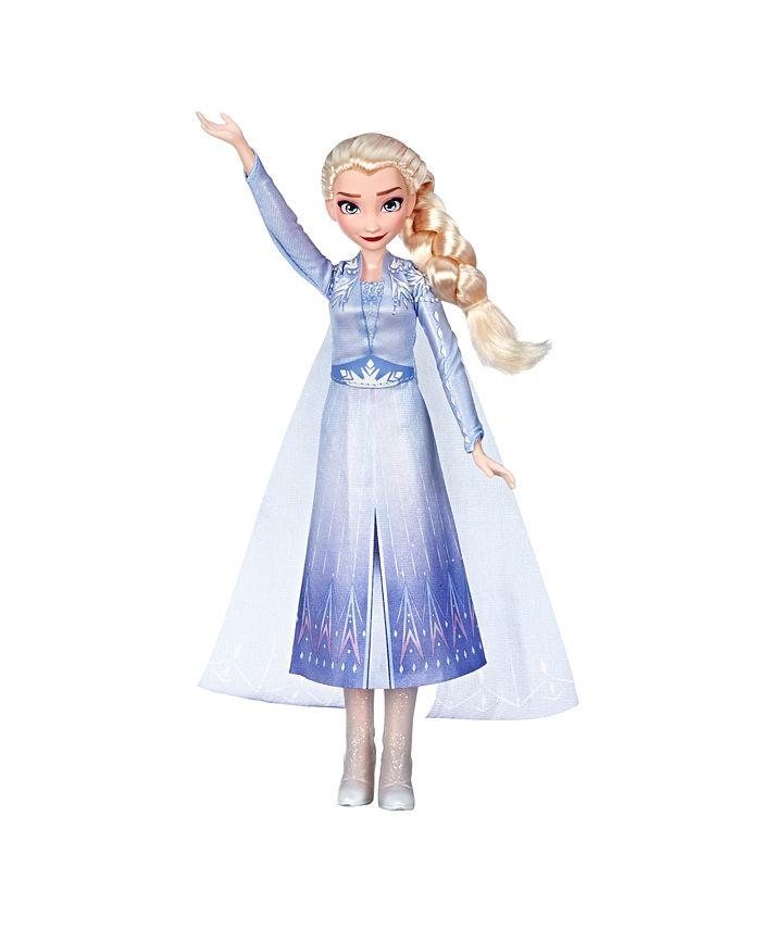 Frozen - Disney  Singing Elsa Fashion Doll with Music Wearing Blue Dress Inspired by Disney Frozen 2