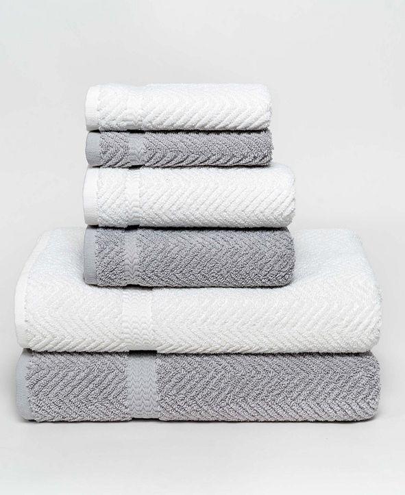 OZAN PREMIUM HOME Serenity Collection 6-Pc. Towel Set